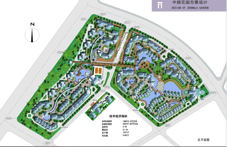 多层现代风格别墅建筑施工图(含方案及施工图全套)