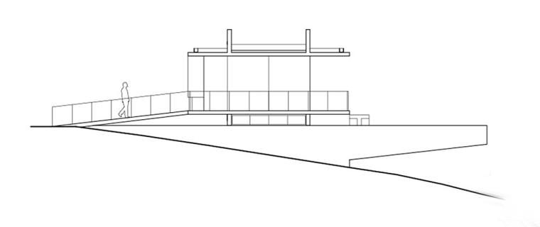 太平洋海岸边的粗犷住宅立面图 (19)