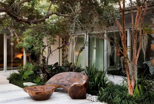赶紧收藏!21个最美现代风格庭院设计案例_96