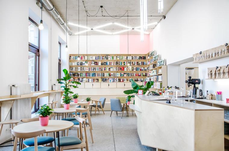 现代混搭Kahawa咖啡书屋
