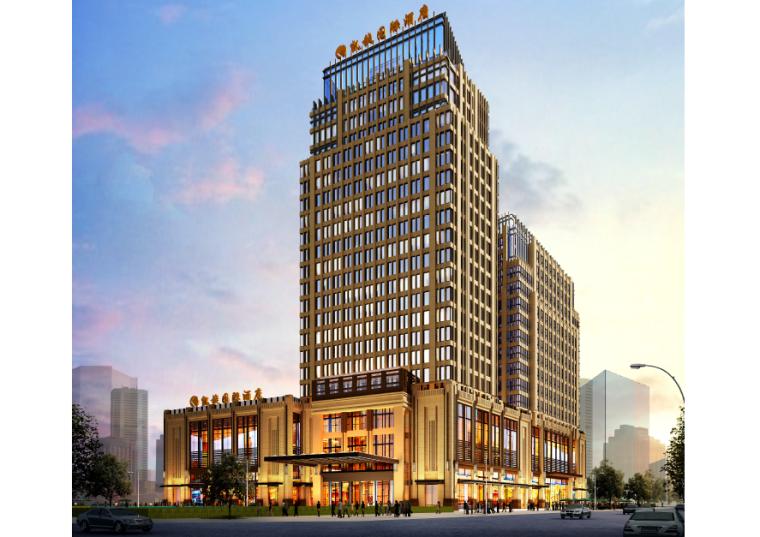 [江西]吉安市凯旋国际设计方案