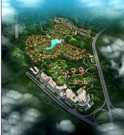 高层永春迎宾馆式酒店建筑设计方案文本(含CAD)