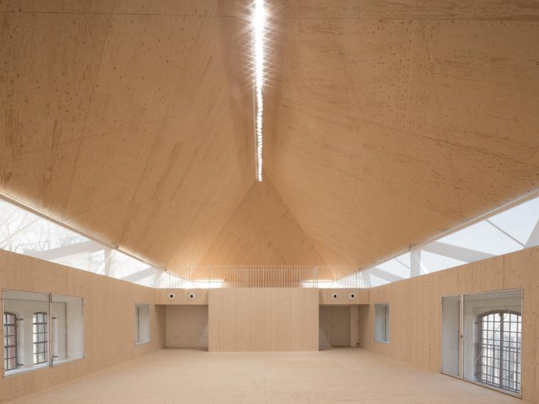德国明斯特文化校园(悬臂木结构)