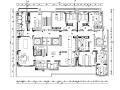 [新疆]东方禅意品茗茶室空间设计施工图(附效果图)