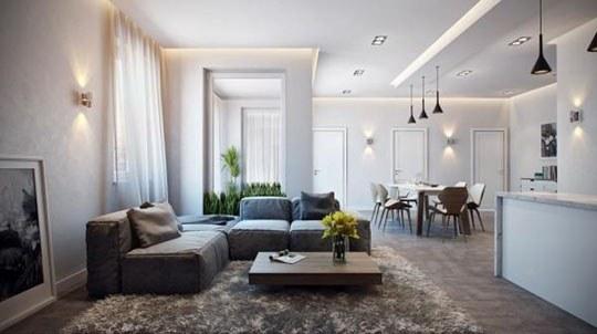 100平德式风格公寓装修,打造简约舒适的生活空间!