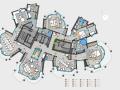 大师户型平面解析概念设计图(室内装饰学习参考资料)