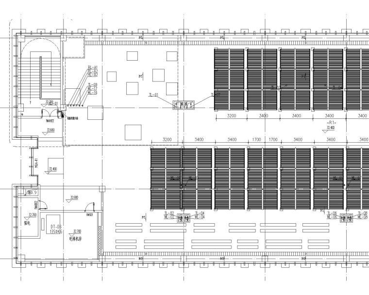 启东市市级机关后勤服务中心给排水设计全套图纸(含太阳能热水供应系统)