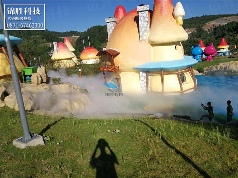 重庆万盛丛林菌菇蘑菇总动员人造雾景观-喷雾景观创意雾景案例-重庆万盛丛林菌菇蘑菇总动员136.jpg