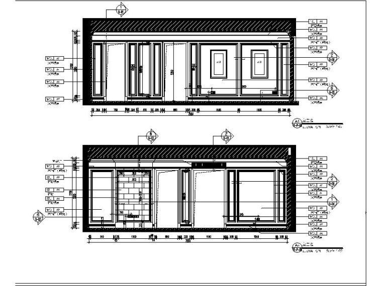 [青岛]法式浪漫精品三居室装修设计施工图(含实景图)_2