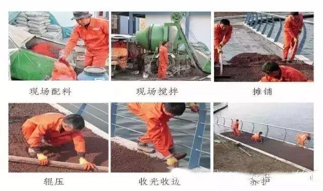 彩色沥青混凝土路面的设计与施工应用_6