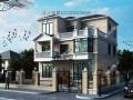 占地95平米农村2层半自建房设计图砖混结构三层小楼房施工图