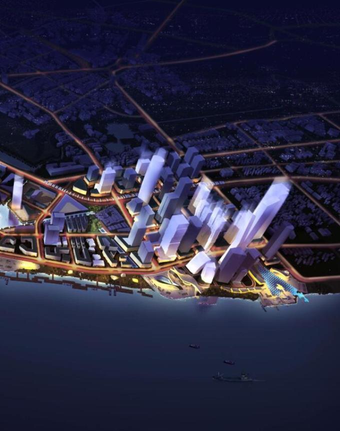 [江苏]滨江项目城市设计概念方案国际征集作品_5