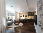 现代舒适居室3D模型下载