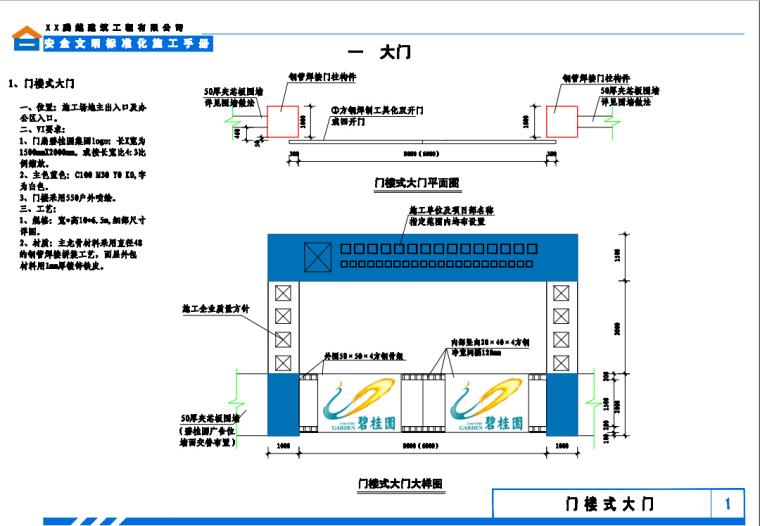 碧桂园安全文明标准化施工手册