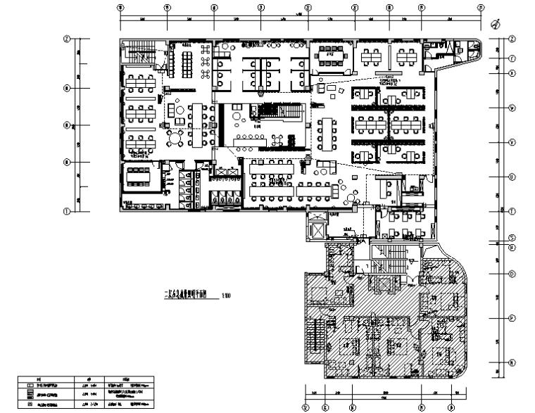 上海酒店管理公司办公楼装修项目电气施工图