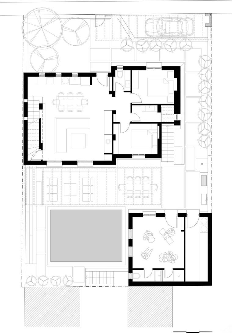 希腊音乐家家庭住宅平面图(22)