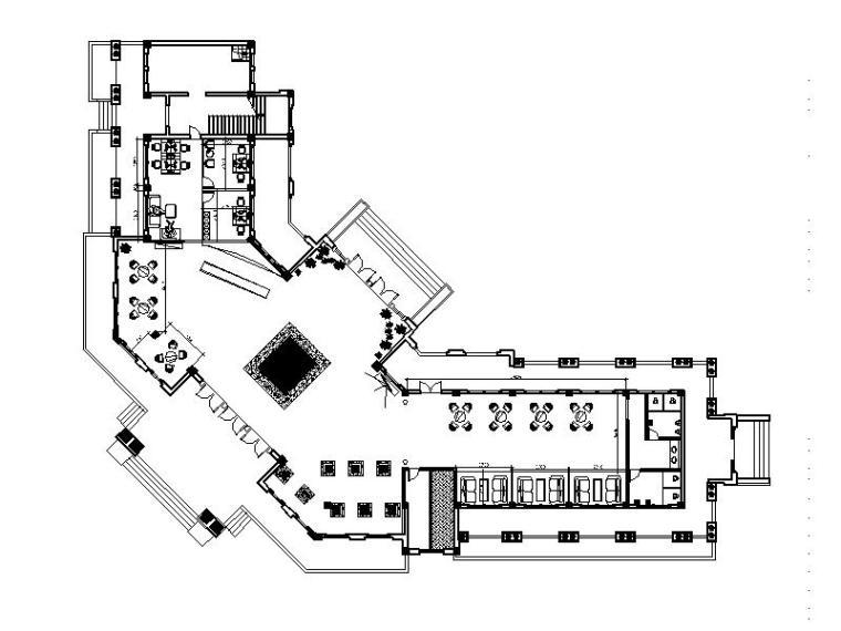 [南充]中式售楼部会所装修设计施工图