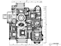 [上海]邱德光星河湾样板房设计施工图(附效果图)