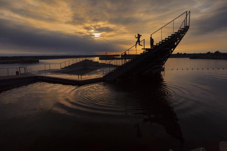 丹麦Hasle海滨浴场-16