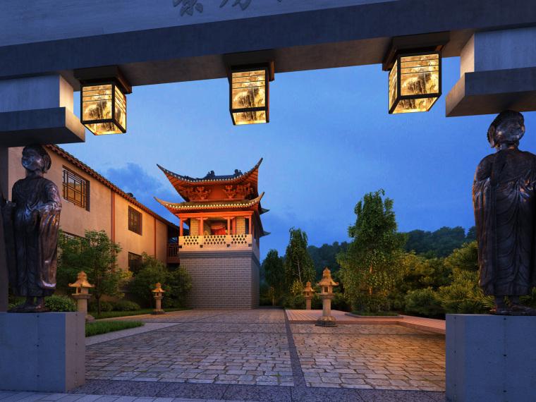 日式禅宗庭园结合禅宗美学设计案例——永福寺_18