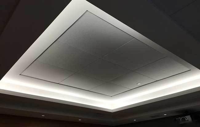 北京朝阳区30平米地下室家庭影院装修案例_2