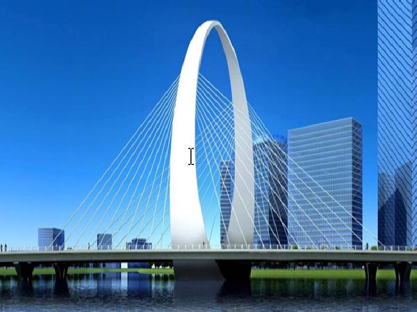 超宽钢箱梁斜拉桥拱塔安装施工技术总结