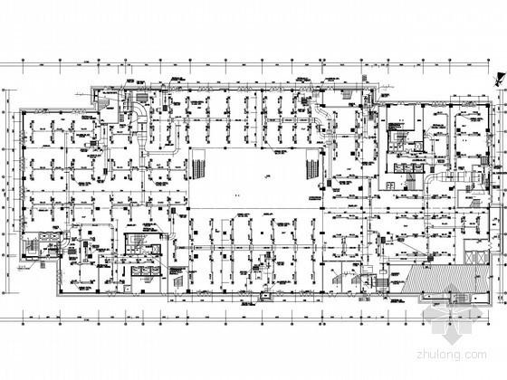 [湖南]大型商场空调通风全套施工图纸(大样图较多)