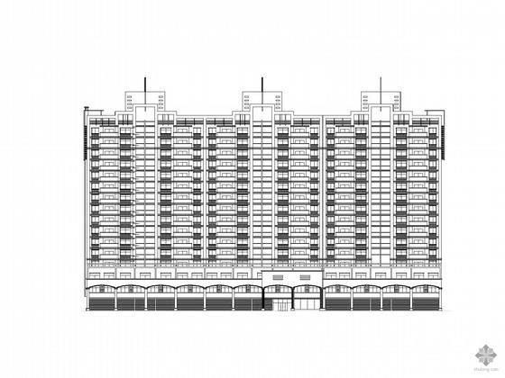 [彬州]某十六层住宅人防指挥所建筑施工图