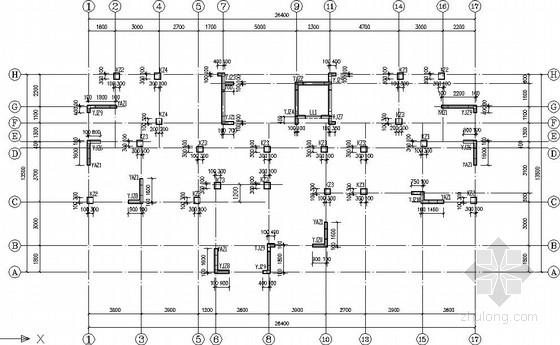11层框架剪力墙小高层住宅结构施工图