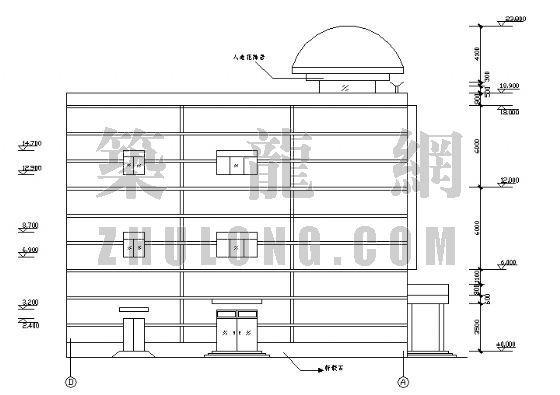 某钢结构超市[含结构图]-3