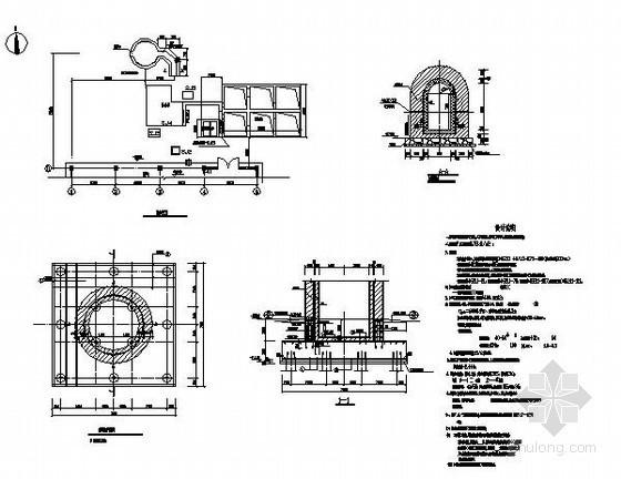 40米砖烟囱结构施工图