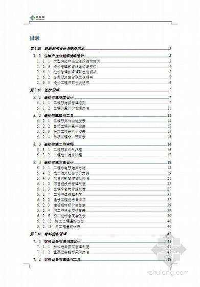 [标杆地产]房地产企业精细化管理全案(管理流程/操作工具)63页