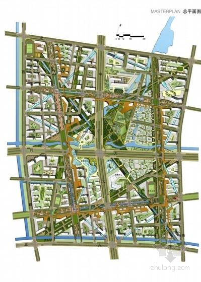 城市综合体总平面图