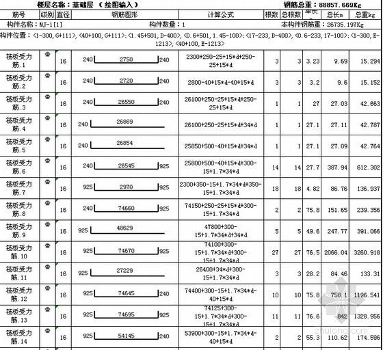 [江苏]2010年高层住宅楼工程量清单计价(招标控制价)