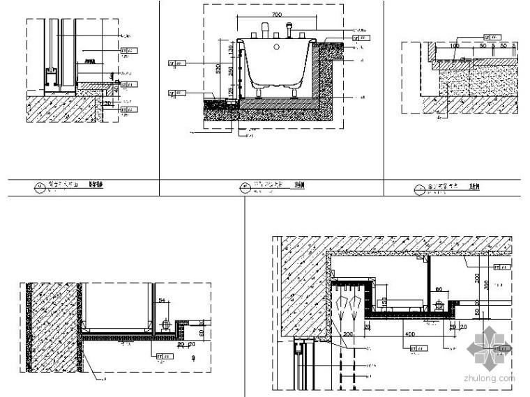 [万科]某小区05公寓115户型三居室内设计图_3