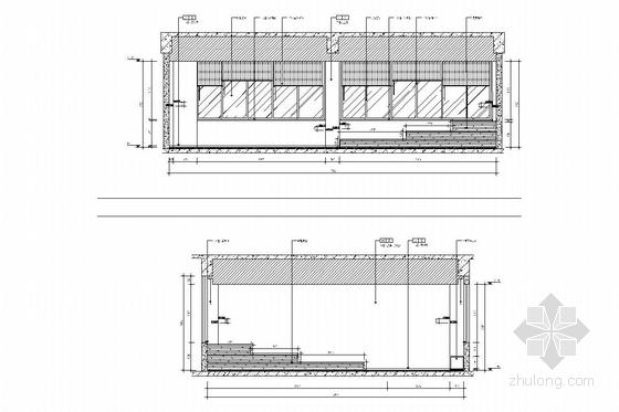 [江苏]1省级重点实验中学艺术中心室内施工图 音乐教室
