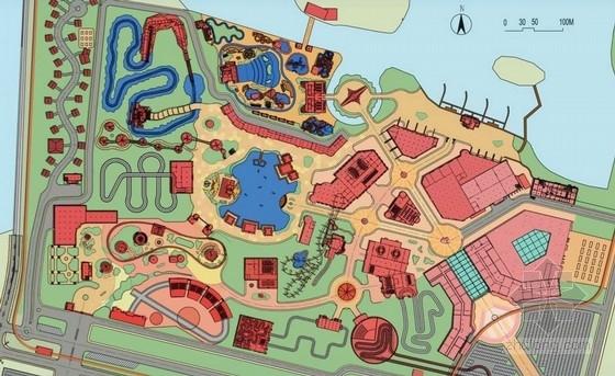 [江苏]未来科幻汽车文化主题公园景观规划设计方案