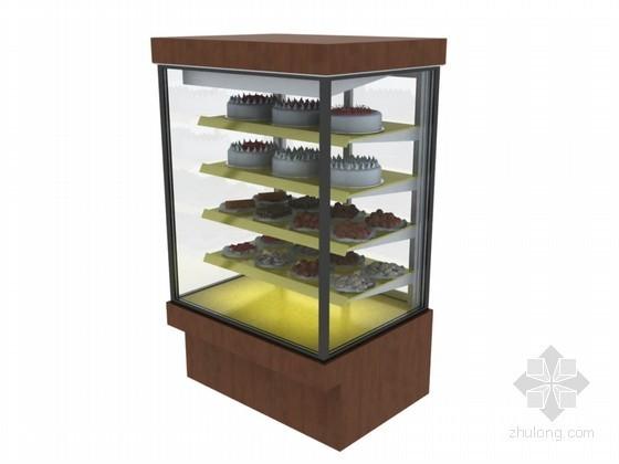 蛋糕柜3D模型下载