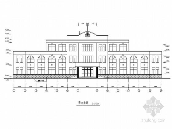 [山东]三层砖混结构医院门诊楼建筑结构施工图