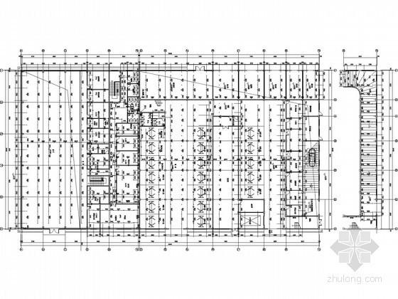 [北京]汽车4S店展厅及维修车间给排水施工图纸(虹吸雨水系统)