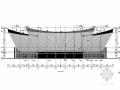 [游船码头]地上一层空间钢结构施工图(含建筑图)