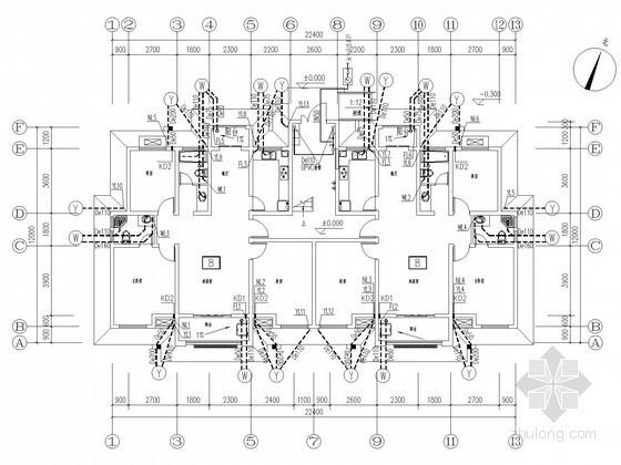 [安徽]多层住宅建筑给排水施工图