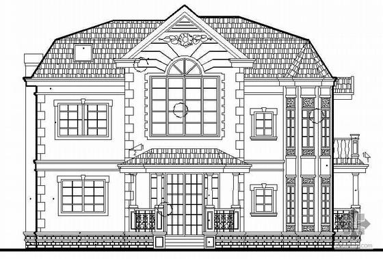 某二层实用型小型别墅建筑施工图