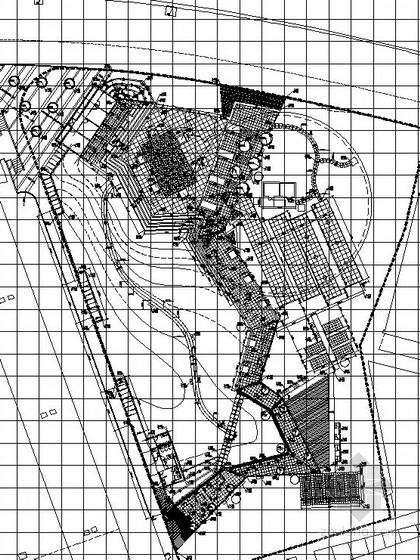 [上海]公园园林景观工程施工图