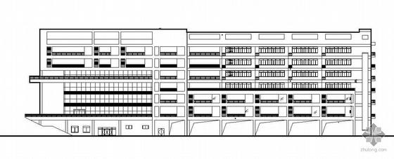 湖南某八层学校科技馆建筑施工图