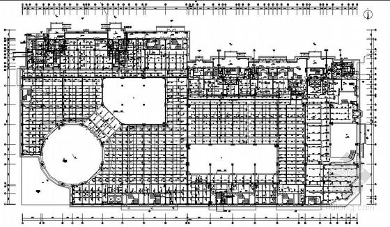福州市某住宅区1#、2#楼及其连接体给排水施工图