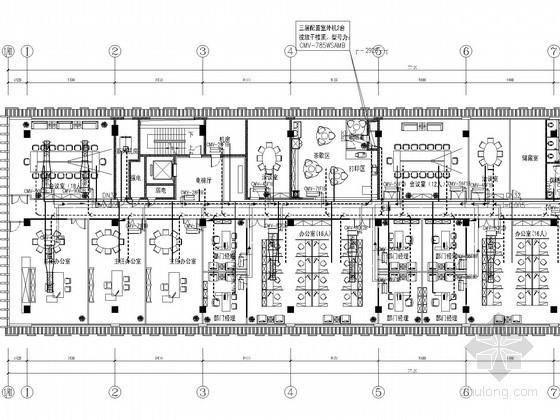[江苏]多层科研办公楼空调通风系统设计施工图(多联式系统)