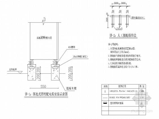 [浙江]城市次干路拓宽改造工程电力施工图设计6张