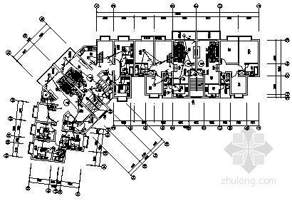 [贵州]七层底商住宅楼电气施工图纸