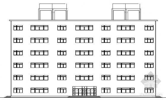 某六层办公楼建筑结构施工图及结构设计说明书[合肥工业大学自考毕业设计]